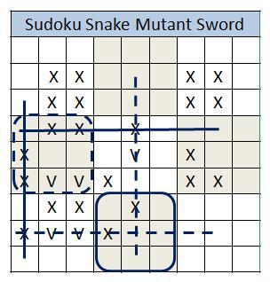 Snake mutant sword 1