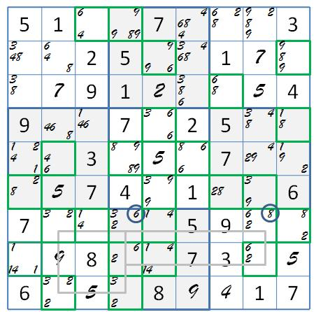 Two Dave Green 4-fills | Systematic Sudoku
