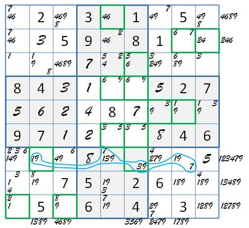 green 1019 LM grid