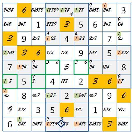 FM 36 pink olive grid